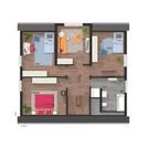 lichthaus152-grundriss_DG_zum-Spitzboden_style.jpg, Copyright © 2019 © 2019 Town & Country Lizenzgeber GmbH