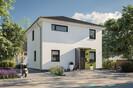 Stadtvilla_Aussenbereich_Eingang_Vordach_Spielzeug_Final.jpg, Copyright © 2021 © 2019 Town & Country Lizenzgeber GmbH