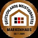 Siegel-meistgebautesMarkenhaus-NEU.eps, Copyright © 2019 © 2019 Town & Country Lizenzgeber GmbH
