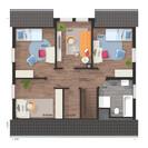 Flair-125-Dachgeschoss-6-Zimmer-Style.jpg, Copyright © 2020 © 2020 Town & Country Lizenzgeber GmbH
