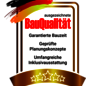 Siegel-BauQualitaet.png, Copyright © 2021 © 2021 Town & Country Lizenzgeber GmbH