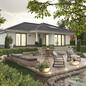Bungalow-128-Ansicht-Garten.jpg, Copyright © 2021 © 2021 Town & Country Lizenzgeber GmbH